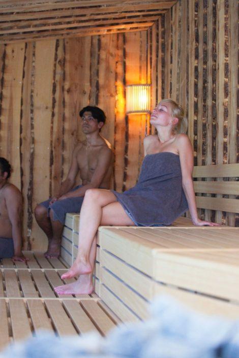 Bedrijfsreportage website Sauna