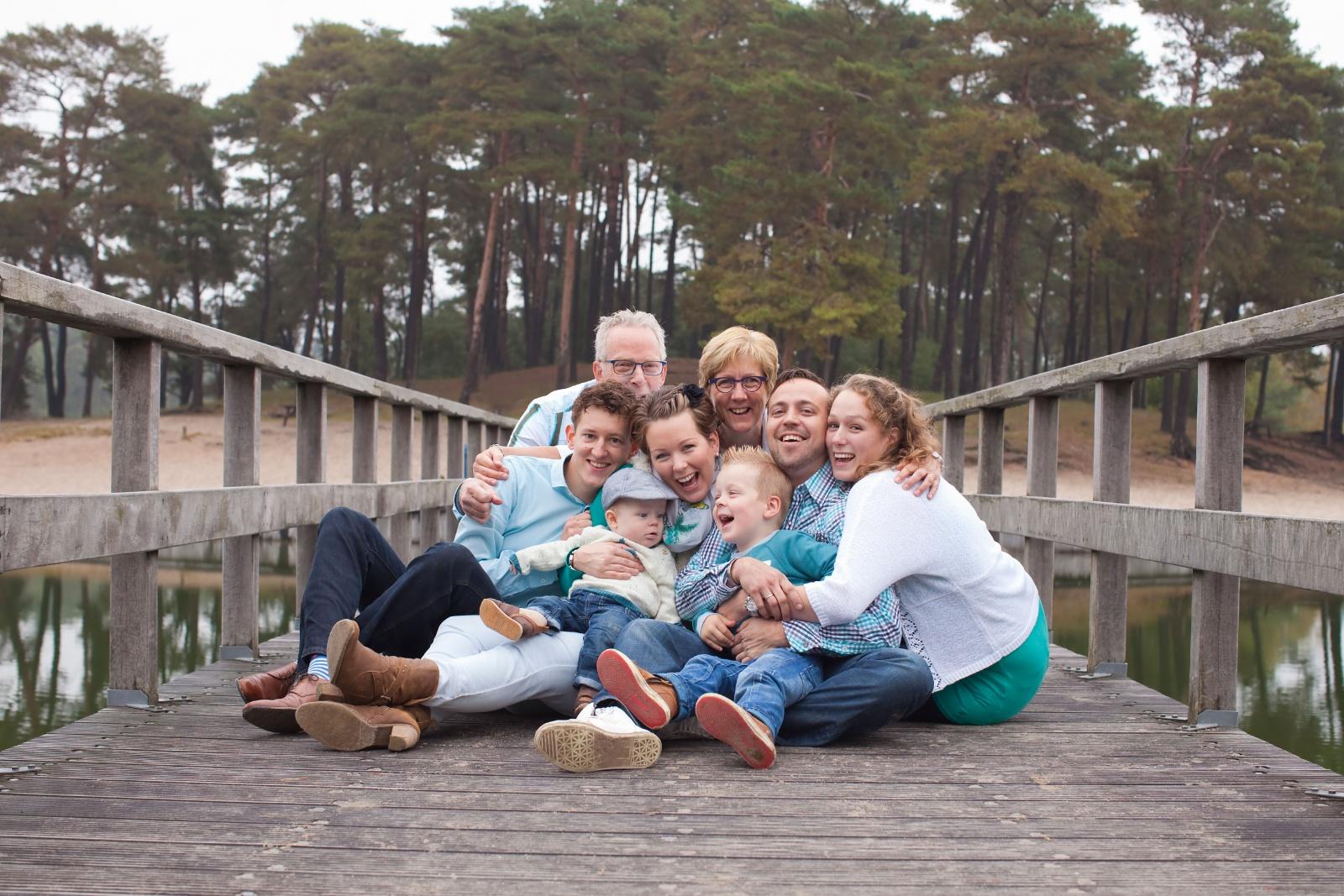 Familie foto reportage Henschotermeer