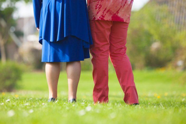 Fotoshoot moeder en dochter