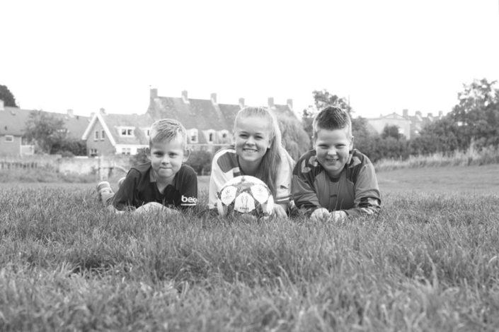 Gezellige familyshoot in het Kasteelpark van Wijk