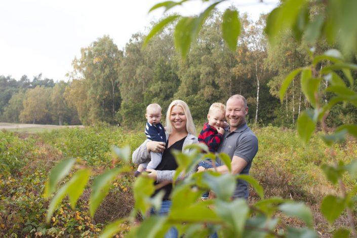 Familiereportage op de Sint Helenaheuvel in Doorn