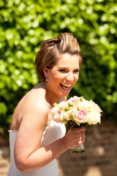 Trouwreportage bruiloft Sietze en Sabine