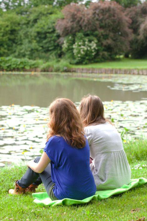 Zussenshoot stadspark Wijk bij Duurstede