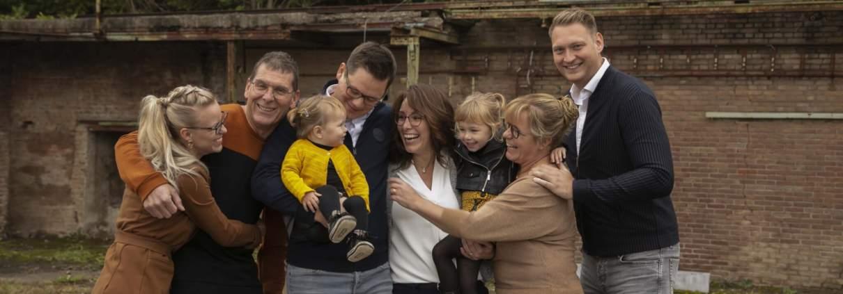 Beloved familie fotoshoot samen