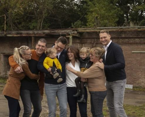Beloved familie fotoshoot samen